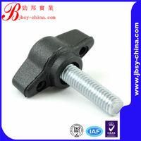 plastic head aluminum thumb screw with high quality