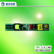 LED Tube Output 30-100V Inlay 20W Isolated LED Tube Driver For fluorescent lamps