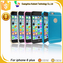 luxury thin aluminum metal bumper frame case cover for iphone 6 plus