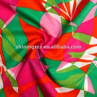 color-mixed cotton voile fabric