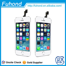 Factory Price Direct sale Mobile Phone LCD display screen for apple iphone 5s
