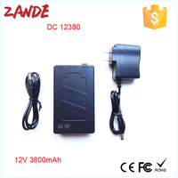 Super Power New Dc 12v Portable 3800mah Li-ion Super Rechargeable Battery Pack for CCTV Camera