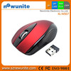 Hot Red 2.4GHz Wireless Optical Mouse/Mice + USB 2.0 Receiver for PC Laptop