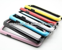 Double Colors TPU Bumper Frame Case Skin Cover for Samsung Galaxy S4 Active i537 i9295 Case