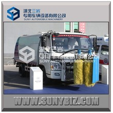 FOTON AUMARK 6 wheels guardrail cleaning truck/ parapet wall tank truck / barrier clean truck