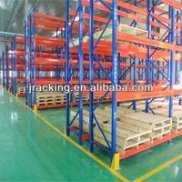 China Jracking storage gravity roller pallet rack guard