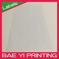 Baeyi Printing A4 size heat sensitive transfer sticker for multi inject printer