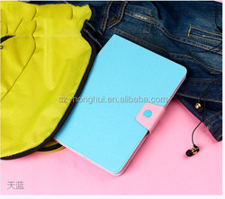 Card hold leather case for ipad air, tablet cover, ultra slim leather case for ipad air 2 HH-IP612-32