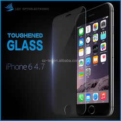 factory price For 0.2mm Full Screen Cover 9H Hardness for iPhone 6 tempered glass protector screen