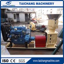 China CE taichang15kw flat die household coal dust granulator