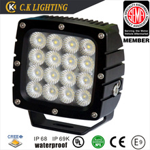 heavy duty 12v 80w led work light with CREE chip