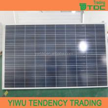 250w stock trina solar panel
