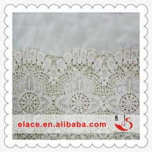Cheapest Flower patten wholesale high end super hot professional design guipure lace fabric lace and cotton