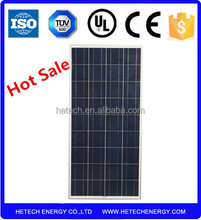 solar cell companies in china prices for 150W poly solar panel