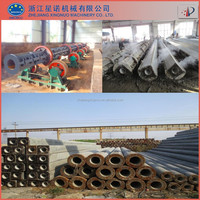 Class B and Class C foundation phc concrete pile making machine