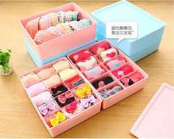 colorful and multifuctional plastic underwear storage box