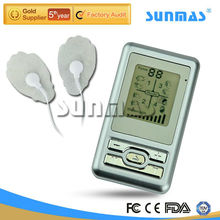 handheld tens unit electronic pulse massager with lithium battery six massage modes large LCD screen SM9098
