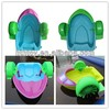 Kids water play equipment strong engineering plastic aqua pedal boats