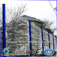 Hot sale welded wire mesh fence/airport fence