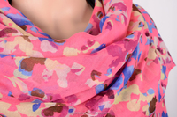polyester triangle lace scarf 889-3 HD265