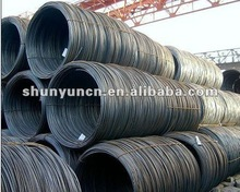 Drawn wire or nails making steel wire rod Q195