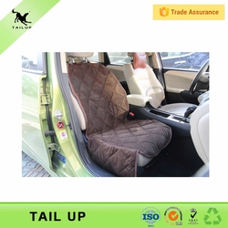 Custom Design Bucket Pet Car Seat Protector Front Single Seat Dog Cover Disposable Deterrent