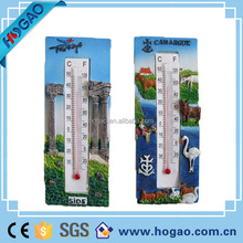 3d refrigerator/fridge door magnets with thermometer