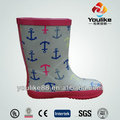 yl7035 criança botas de borracha wellington