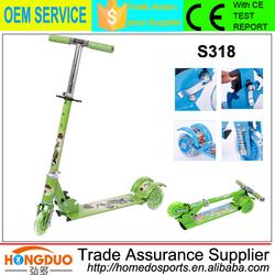 New style kid fun equipment scooter 3 wheel