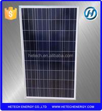 High Efficiency poly 120W best price per watt solar panels in india