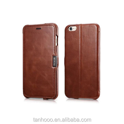 Genuine Real Leather Case pouch Cover For Apple iPhone 6 Plus