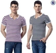 Factory Bulk Price Short Sleeves Blank Fashion Sailor T Shirts