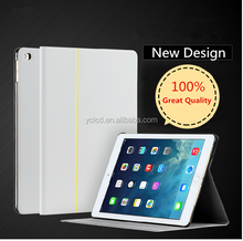for iPad 2/3/4 Folding cover Magnetic Leather case with Sleep/Wake function