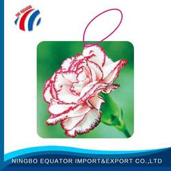 Promotional flower japanese car air freshener