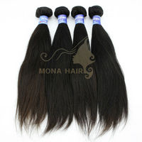 No fibre 5A top quality wholesale in stock for sale best virgin brazilian remy hair straight hairstyles weaving