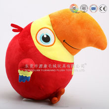 OEM custom best made cute mini plush owl toy in China factory