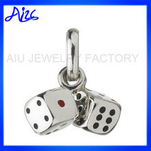 pendant jewelry 925 silver square pendant necklace