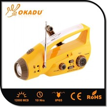 Super Power Rechargeable Led Radio Emergency Light