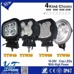High power ! 60W Offroad LED Work Light Bar Off Road LED work lamps Worklight Beam Cars SUV ATV TRUCK Farming Light