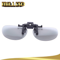 fashion disposable clip on active 3d glasses china price