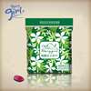 Soft sanitary pads for ladies girls fresh cold mint herbal with bamboo chip menstrual pad