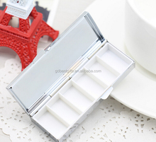 custom pill box 6 compartments