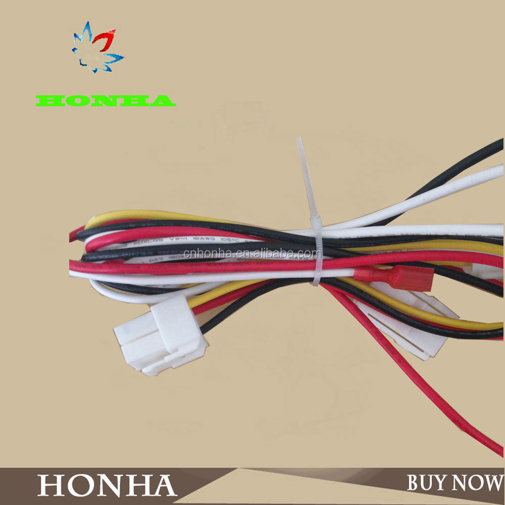 High Quality 1 4 Pins Molex Connector Ul Wire Car Audio Harness Stereo Female Hh 004 3