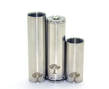 Promotion! Mechanical Tree of Life Mod fit 18350 to 18650 battery pipe smoking electronic cigarette mods wholesale