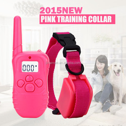 New Model M81B Pet training collar , Pink color , For One Dog