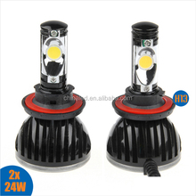 Guangzhou Factory Price 10-32V High Low Beam H13 LED Headlight for All Cars
