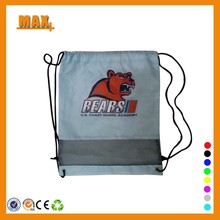 Max+ Wholesale 190T Polyester Net Bag Drawstring Mesh Bag
