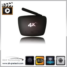 android tv box digital satellite Shenzhen smart internet TV RK3288 Android Media Player rj45 set top box wifi