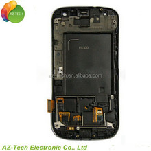Wholesale for samsung galaxy S3 mini I8190 lcd with touch screen with frame