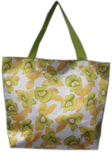 Fashion Printing Flower shopping bag vietnam Wholesale 2015